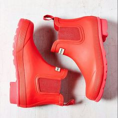 Red Rain Boots #UO