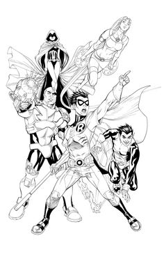 Teen Titans •Mike S. Miller