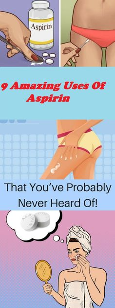 9 Amazing Uses Of Aspirin That You've Probably Never Heard Of! - Women Health Tips Wellness Tips, Health And Wellness, Health Tips, Health Fitness, Health Essay, Health Remedies, Home Remedies, Natural Remedies, Natural Treatments