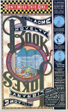 Chris Ware #grafica #vintage #lettering #fumetti