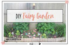 DIY Fairy Garden - Follow My Arrow