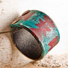 Arrow Head Turquoise Jewelry Native Tribal Chevron by rainwheel