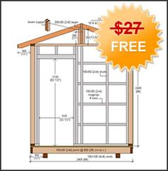 How To Build A Shed - Building A Garden Shed, Storage Shed, Outdoor Shed