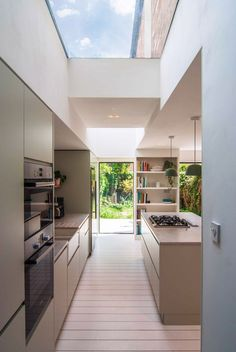 van home layout 406238828889063062 - Rooflights Kitchen Painted Floorboards Stoke Newington London Side Extension Source by dorisgump Painted Floorboards, Kitchen Diner Extension, House Design Pictures, House Extension Design, Open Plan Kitchen Living Room, House Extensions, House Layouts, Interior Design Kitchen, 1930s House Interior