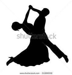 Stock Images similar to ID 53566885 - dancing couples silhouettes...