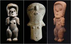 Figuras Arqueológicas Cultura Machalilla, Ecuador