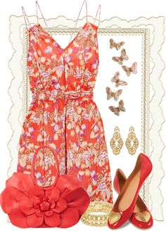 """""""Running in Flats"""" by fashionmonkey1 on Polyvore"""