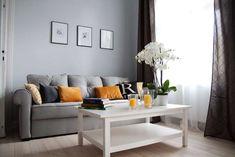 homify / Grey shade interiors: Salones de estilo ecléctico de Grey shade interiors
