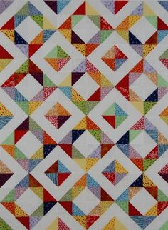 Square Dancin' Charm Quilt pattern $5.00 on Craftsy at http://www.craftsy.com/pattern/quilting/other/square-dancin-charm-quilt/14143