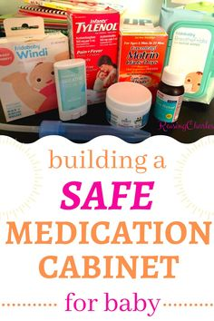 Don't wait until your baby or toddler is sick to head to the pharmacy and get medication for her. Create your safe baby medication cabinet during pregnancy. Written by a pharmacist, here are the safest baby/toddler medications broken down by what's troubling baby. #babymedication #toddlermedication #safemedication #sickbaby #sicktoddler #medication #medicationcabinet #firstaid #firstaidkit #babyregistry #baby #toddler #teething #allergies #fever Sick Toddler, Sick Baby, Sick Kids, Baby Hacks, Baby Tips, Baby Medicine, Getting Ready For Baby, Breastfeeding And Pumping