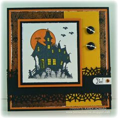 House Of Haunts by Feline Creative - Cards and Paper Crafts at Splitcoaststampers