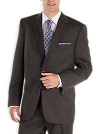 Joseph & Feiss Brown Portly Suit