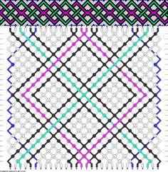 30 strings, 26 rows, 5 colors