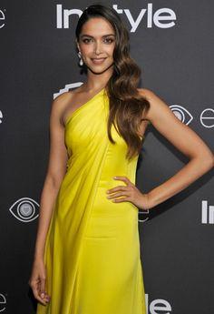 Deepika at @instyle #GoldenGlobes
