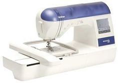 Brother Innov-is 1000 Sewing & Embroidery Machine    Direct Link:   http://www.amazon.com/Brother-Innov-Sewing-Embroidery-Machine/dp/B002F03FVE/?tag=greavidesto05-20