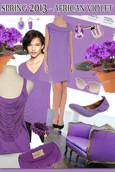 Spring 2013 -  African Violet