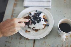 Blueberry morning.