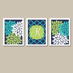 Lime Green Wall Decor bathroom decor, bathroom wall art, canvas or prints, succulent