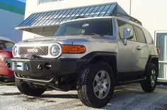 TrailReady FJ base front bumper