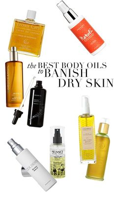 8 of the BEST body oils to banish dry skin - just in time for Summer!