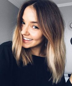 Amazing A stunning for Colour by and styling cut by Cut And Style, Cut And Color, Love Your Hair, New Haircuts, Balayage Hair, Hair Inspiration, Hair Makeup, Hair Cuts, Hair Beauty