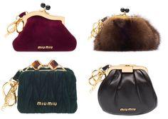 Fall 2011 Miu Miu minibags.