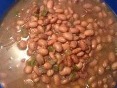 Crock Pot Pinto Beans-minus the chicken broth