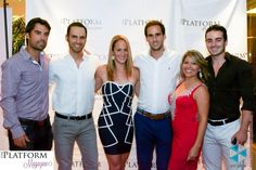 Photo Credit: Jeff Smith NYC Celeb Photographer    US Open championship Team Adrian Menedez Dr. Judy Staveley Sarah Borell  www.theplatformmagazine.com #theplatformmagazinenyc    The Platform Magazine Fashion Show