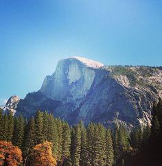 Half Dome in Yosemite Valley of Yosemite National Park, Mariposa County, California, USA