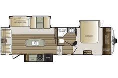 2016 Cougar 280RLS Floor Plan
