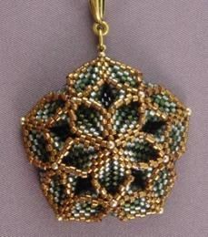 June Huber, Juniper Creek Designs - peyote stitch