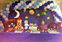 Decoração de festa infantil , tema Astronauta tellastella / Tella S Tella