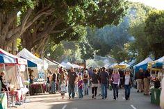 San Luis Obispo Photos at Frommers - San Luis Obispos Thursday night Farmers Market in California.