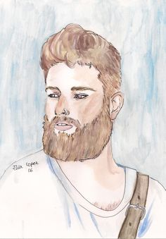 #draw #boy #hipster #beard