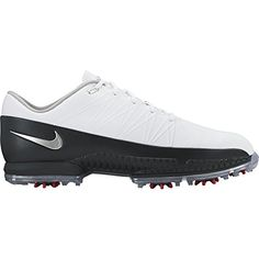 bf4d8e70fd Amazon.com : 2016 Nike AIR ZOOM ATTACK Golf Shoes Wide -White/Silver/Black-  860943-101 : Sports & Outdoors