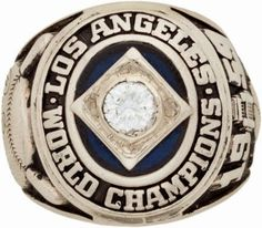 1959 Los Angeles Dodgers World Championship Ring Presented to Don Zimmer World Series Rings, Mlb World Series, Championship Rings, World Championship, Dodgers History, Dodgers Nation, Sandy Koufax, Dodgers Girl, Dodger Blue