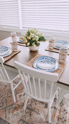Gerald Dining Chairs, Set of 2. Via Nina Williams Blog #diningroom #kitchen #wood #chair