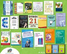 Hasta el momento he recomendado en el blog 74 libros para docentes: 23 libros para docentes , 15 libros que todo docente debe leer , otr...