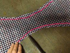 おしゃれなふんどしパンツの作り方◆型紙を自分で作ってみた   つれづれリメイク日和
