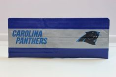 Duct Tape Wallet (Bi-Fold) - Carolina Panthers, $15.  We are also on Etsy at:  www.junorduck.etsy.com.