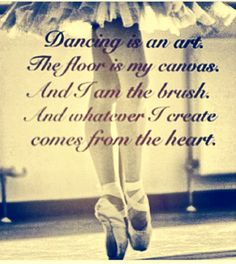 Dancing is an art!  Get some new dance attire or take some dance lessons at Loretta's in Keego Harbor, MI!  If you'd like more information just give us a call at (248) 738-9496 or visit our website www.lorettasdanceboutique.com!