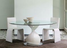Porada Elika Brillante Round Dining Table