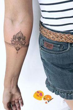 (notitle) - Tattoo ideen - Tattoo Designs for Women Tattoos Bein, Mini Tattoos, Tatoos, Side Hand Tattoos, Forearm Tattoos, Sleeve Tattoos, Inner Elbow Tattoos, Inner Forearm Tattoo, Unalome Tattoo