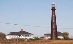 POINT BOLIVER LIGHTHOUSE    PORT BOLIVER TX were our beach house was pre hurricane Ike