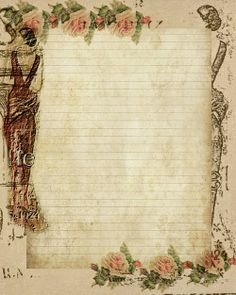 Lady in Paris Stationary ~ Free download