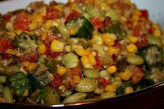 Deep South Dish: Southern Summer Succotash