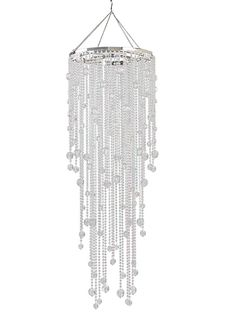 Crystal Chandelier Beaded 13x38