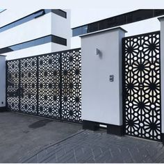 BuildDirect Africa - Africa's First and Biggest Laser Cut Building Addition Manufacturer House Fence Design, Grill Gate Design, Balcony Grill Design, Steel Gate Design, Front Gate Design, Village House Design, Main Door Design, Laser Cut Screens, Laser Cut Panels