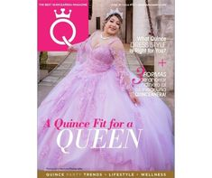 This week's issue highlights a Quince fit for a queen, what quince dress style is right for you, Quince Madrina advice column, and so much more! Advice Columns, Quinceanera Decorations, E Magazine, Dress Shapes, Queen, First They Came, Ball Gowns, Highlights, Formal Dresses