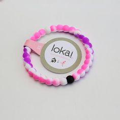 "Lokai Bracelet for a balanced life Rainbow Purple Colors ""FREE SHIPPING """